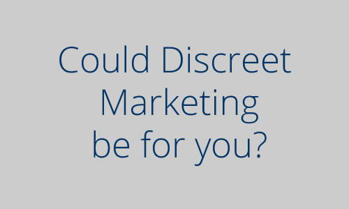 Discreet Marketing