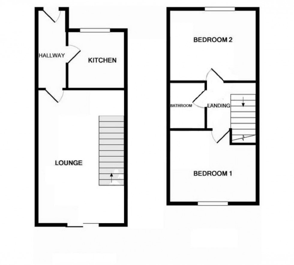 Floorplan for Queenborough Road, Southminster