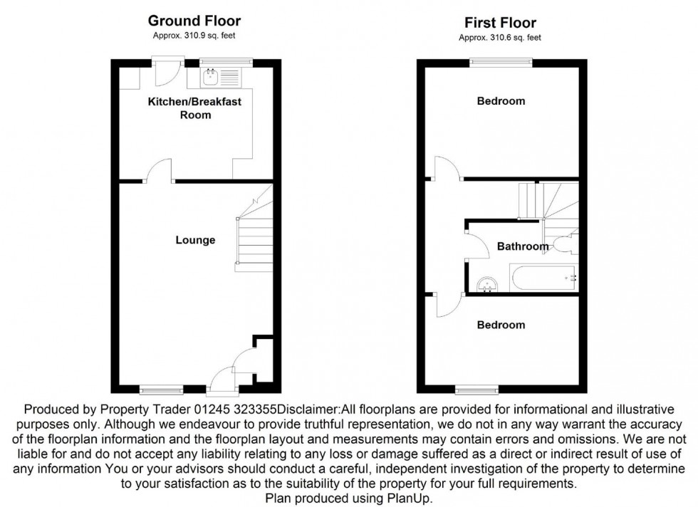 Floorplan for Hermes Drive, Burnham-on-Crouch