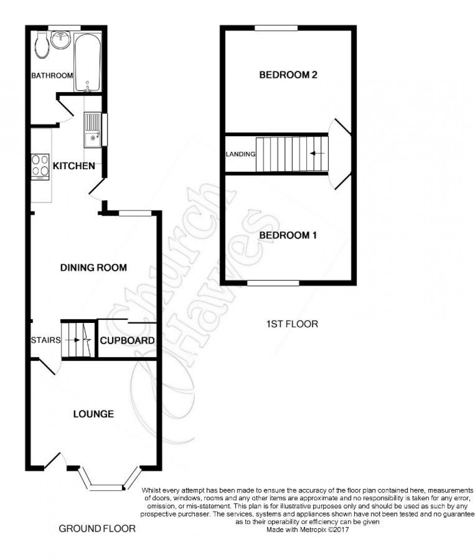 Floorplan for Coronation Road, Burnham-on-Crouch
