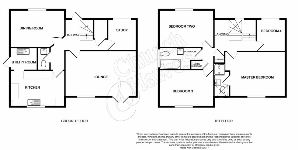 Floorplan for Colchester Road, Great Totham