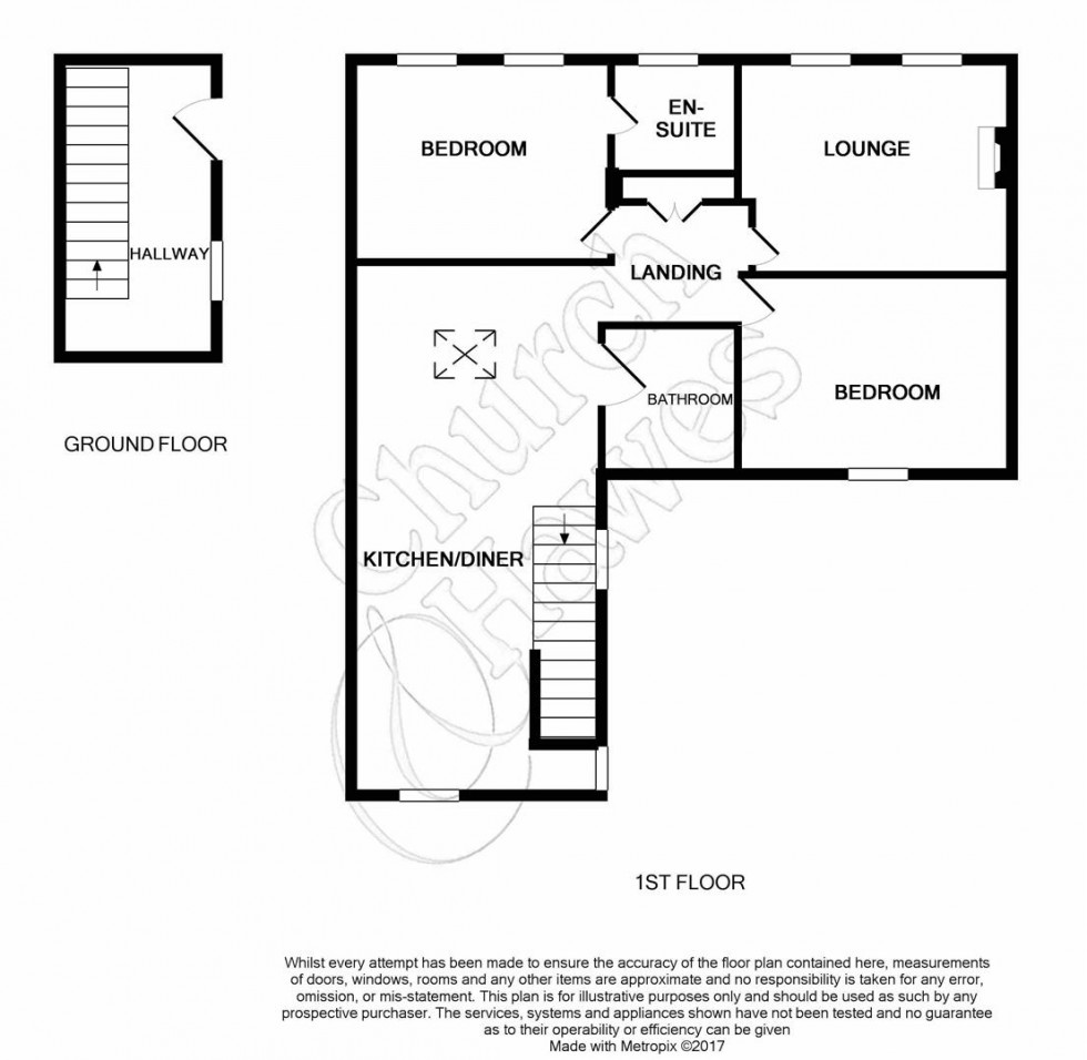 Floorplan for White Horse Lane, Maldon