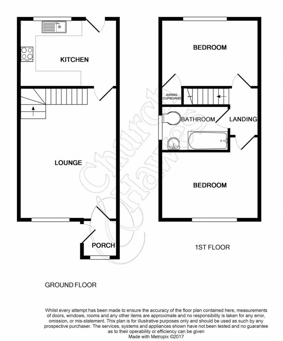 Floorplan for Juvina Close, Witham
