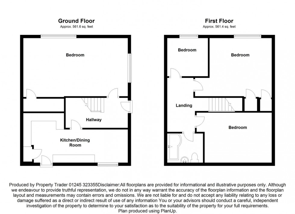 Floorplan for Summerhill, Althorne, Chelmsford