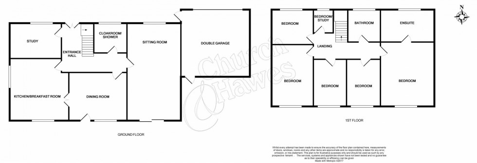Floorplan for Grange Road, Wickham Bishops, Witham