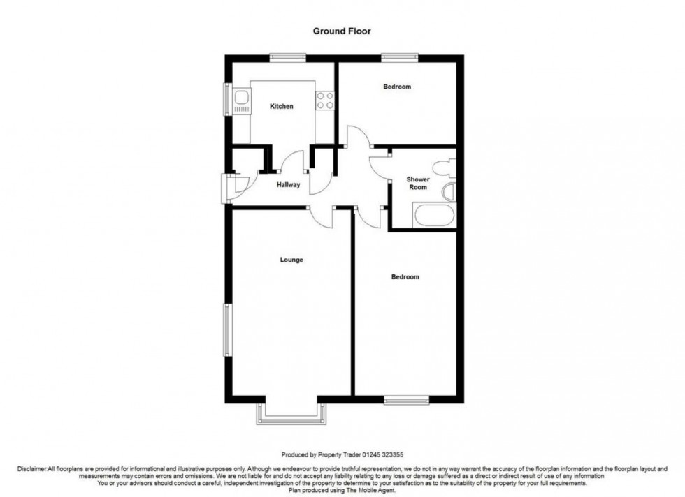 Floorplan for Newnham Green, Maldon