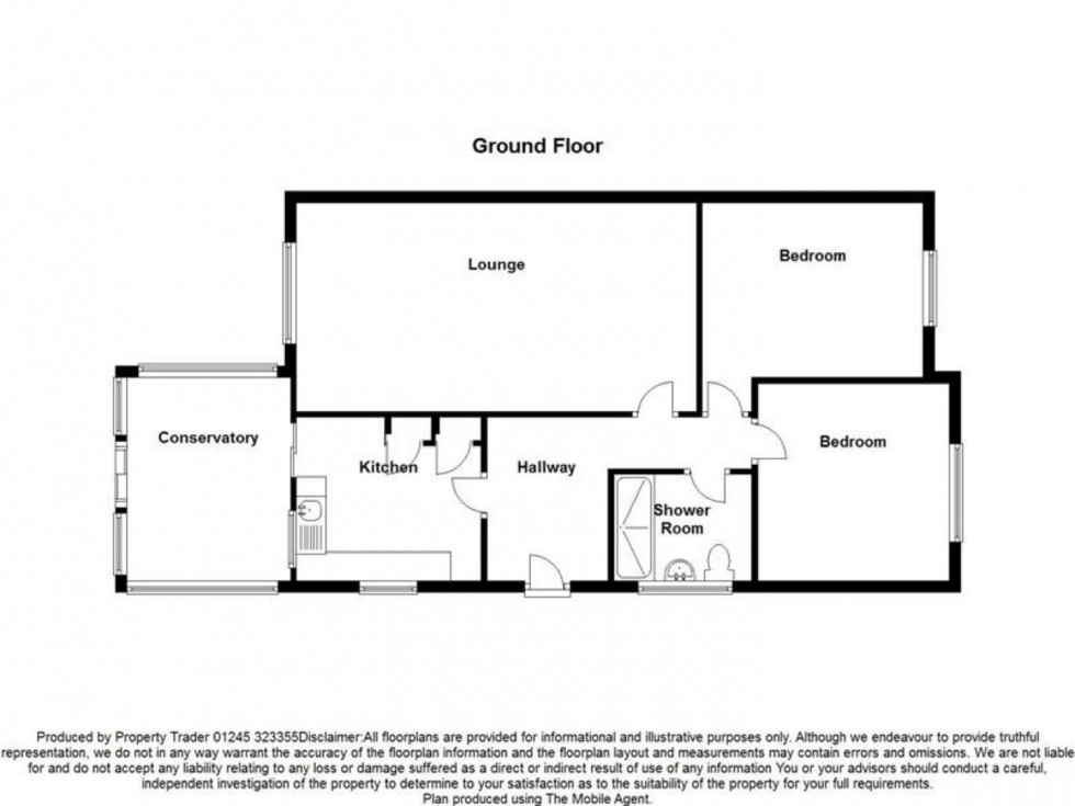 Floorplan for Maple Way, Burnham-on-Crouch