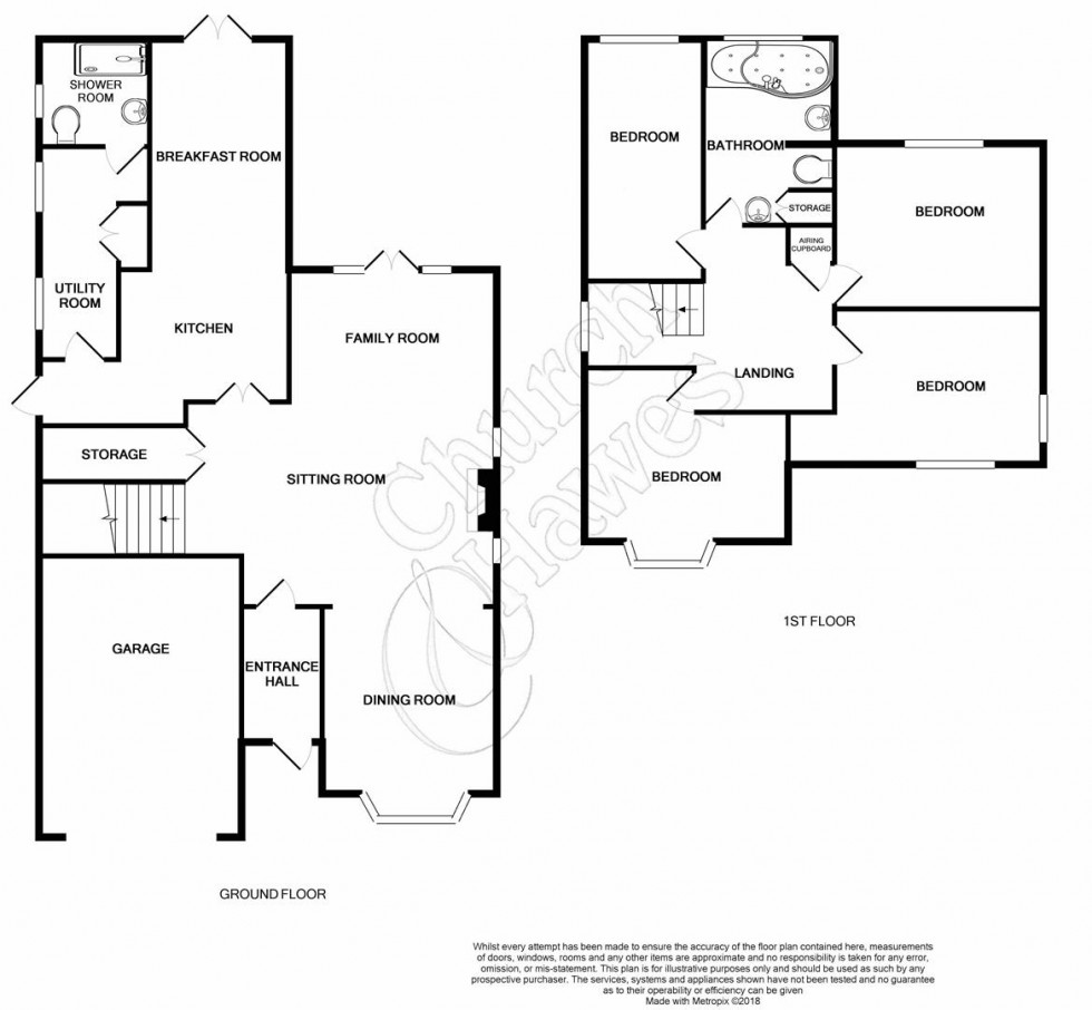 Floorplan for Foster Road, Great Totham