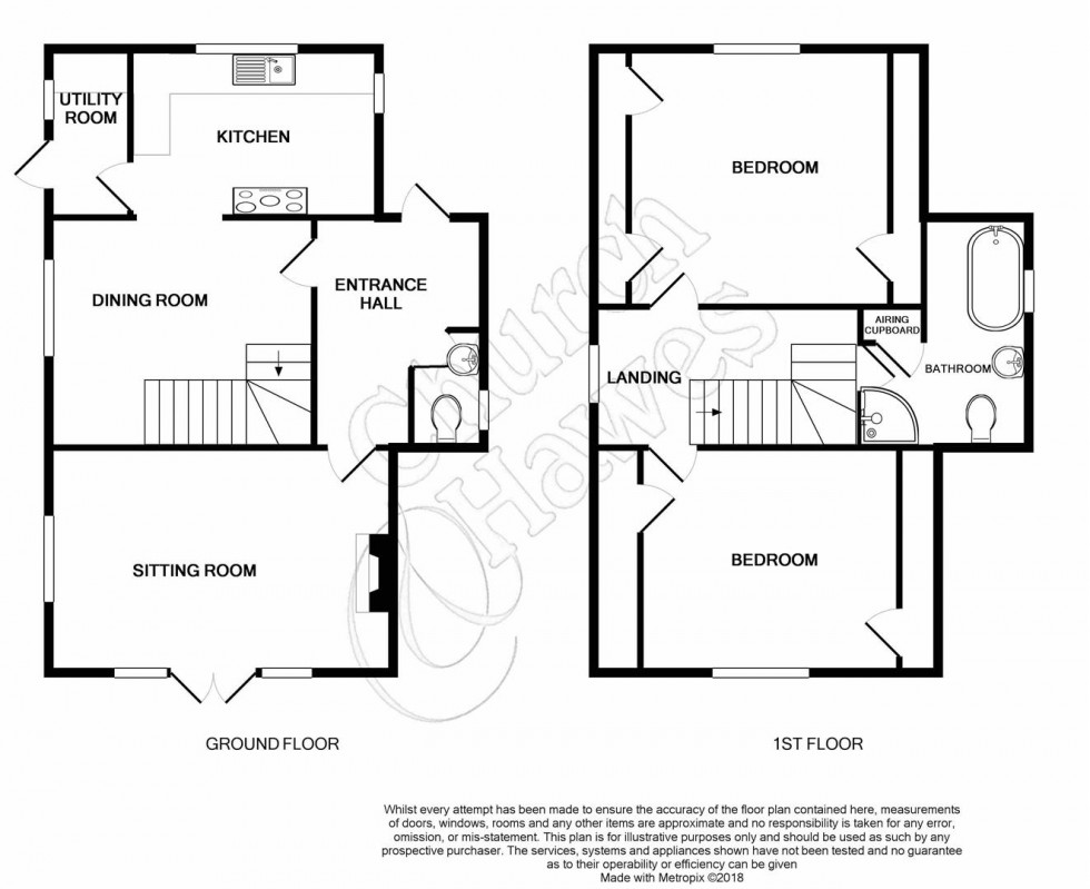 Floorplan for Prince Of Wales Road, Great Totham