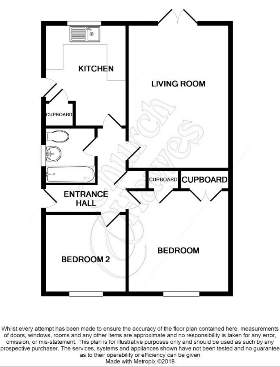 Floorplan for Ash Grove, Burnham-on-Crouch