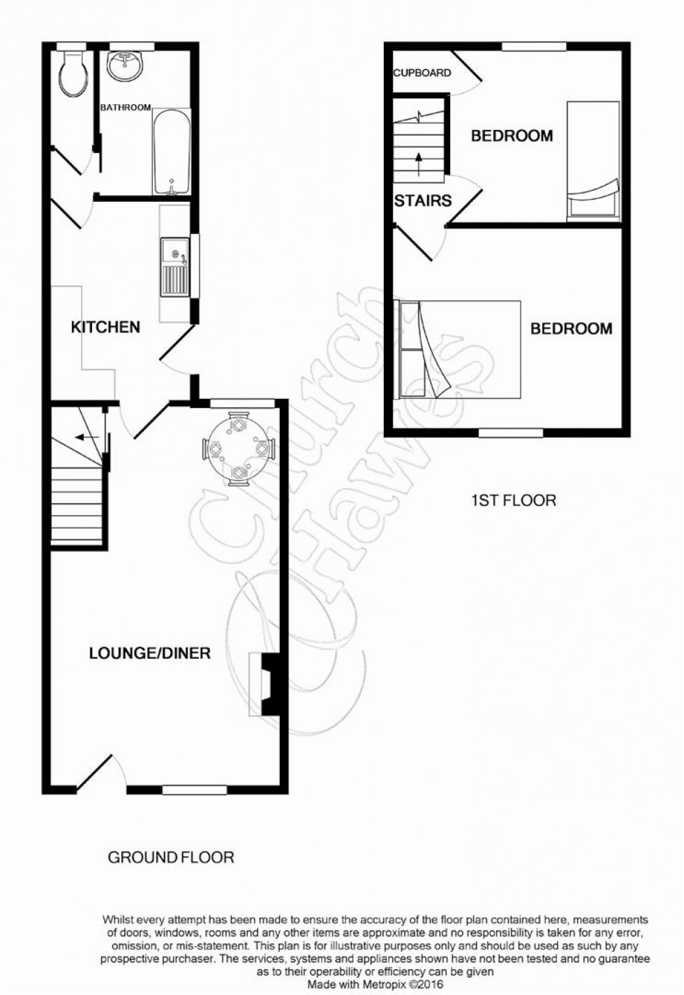 Floorplan for Wantz Road, Maldon