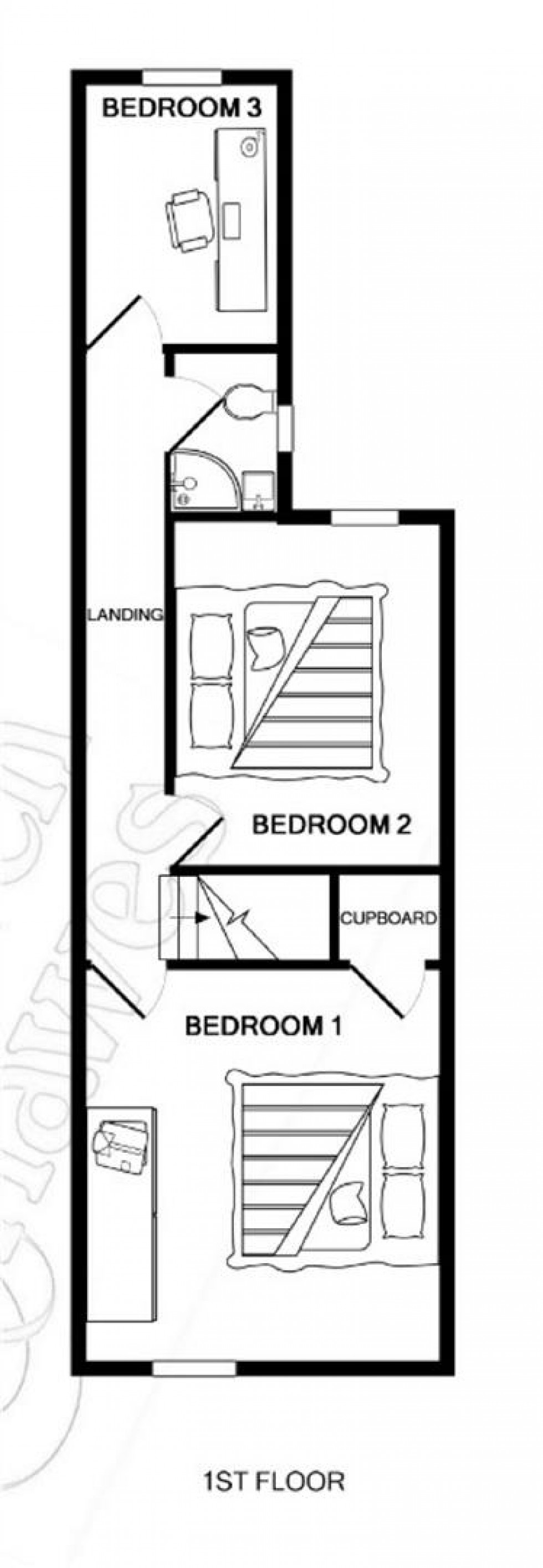 Floorplan for Riverside Road, Burnham-on-Crouch