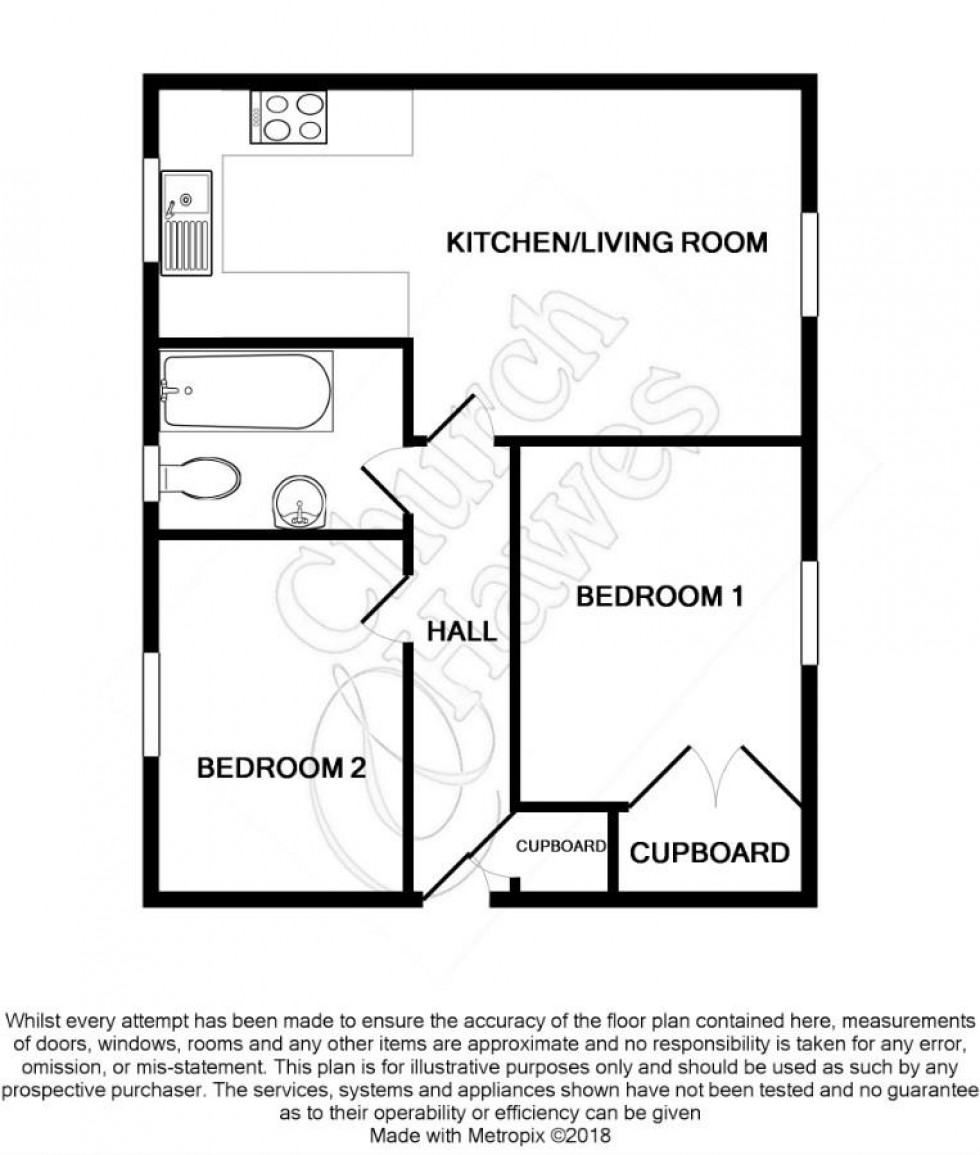 Floorplan for Tattersalls Chase, Southminster