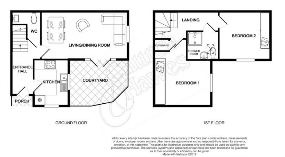 Floorplan for Kings Road, Burnham-On-Crouch