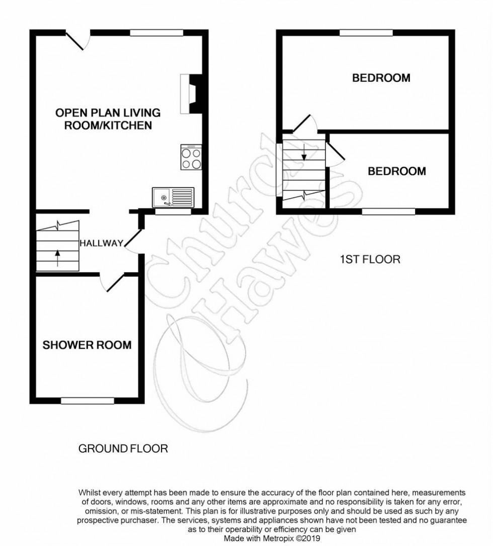 Floorplan for St. Marys Lane, Maldon