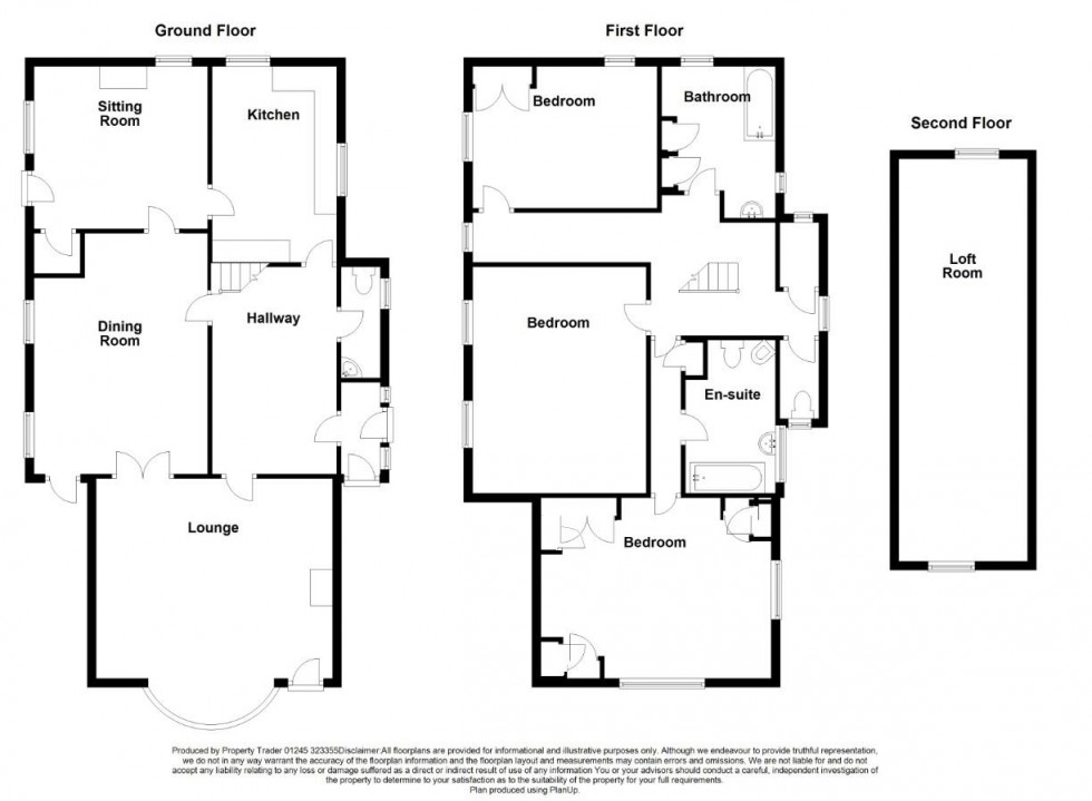Floorplan for Belvedere Road, Burnham-On-Crouch