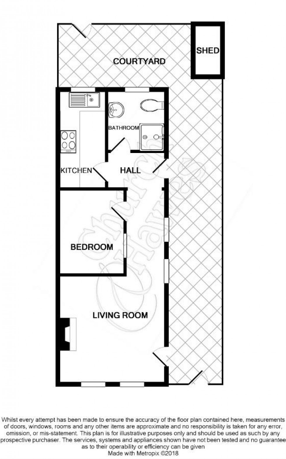 Floorplan for Chapel Road, Burnham-on-Crouch