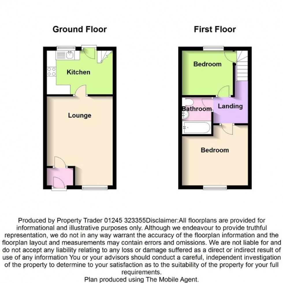 Floorplan for Brunel Way, South Woodham Ferrers