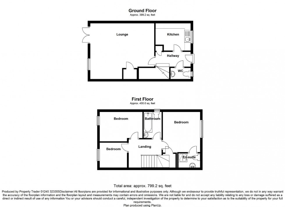 Floorplan for Anchorage View, St Lawrence