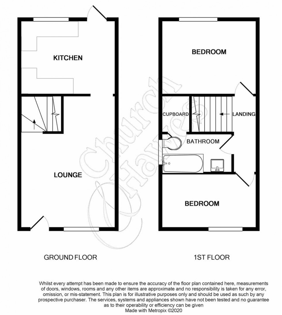 Floorplan for Berry Vale, South Woodham Ferrers, Chelmsford