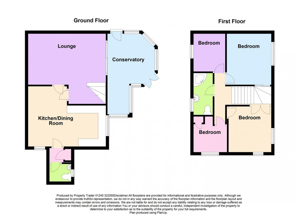Floorplan for Alderbury Lea, Bicknacre, Essex