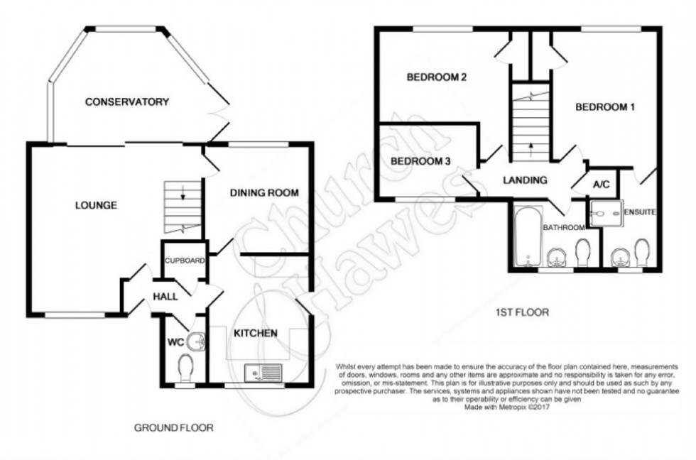 Floorplan for Leslie Park, Burnham-on-Crouch