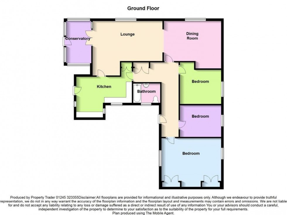 Floorplan for Southend Road, Woodham Mortimer