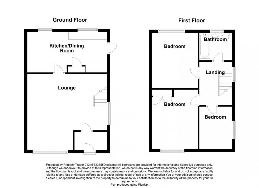 Floorplan for Mill Road, Tillingham