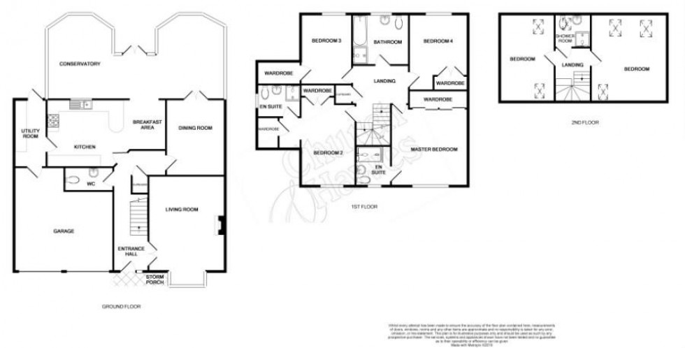 Floorplan for Beauchamps, Burnham-On-Crouch