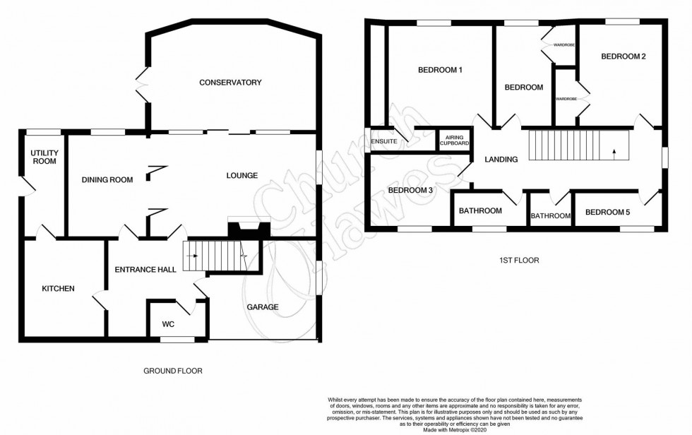 Floorplan for Waterside Road, Bradwell-on-Sea