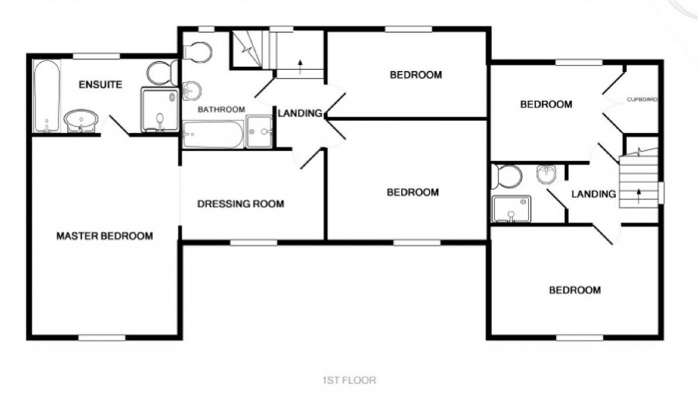 Floorplan for Goldsands Road, Southminster