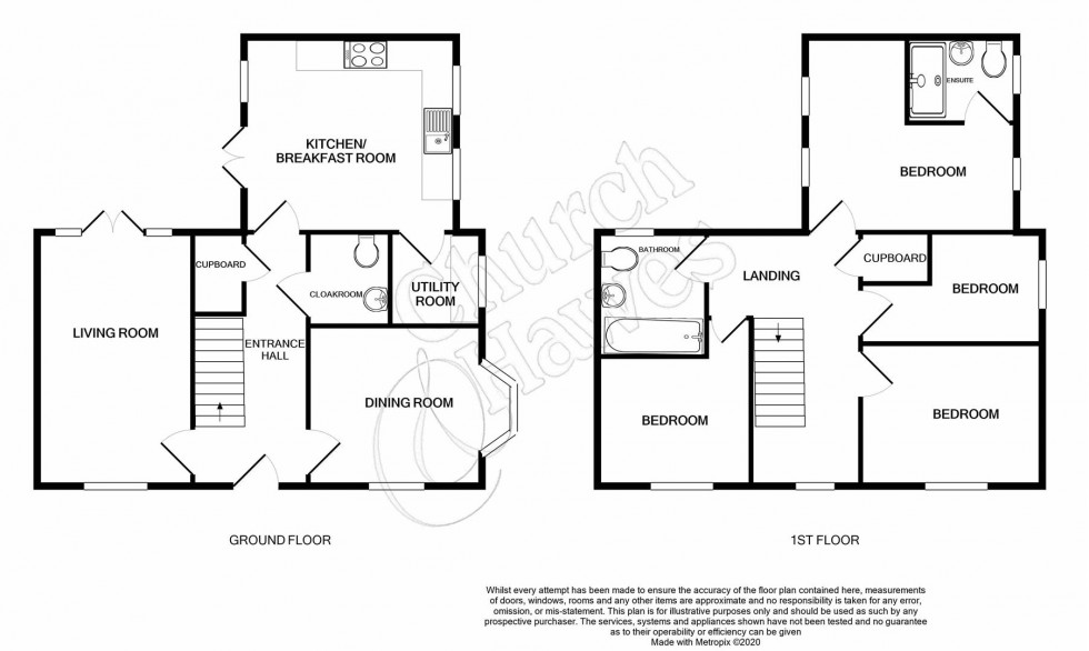 Floorplan for Grangewood Park Avenue, Burnham-On-Crouch
