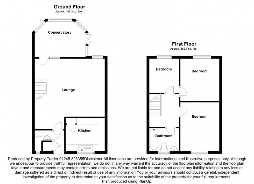 Floorplan for Glebe Way, Burnham-On-Crouch