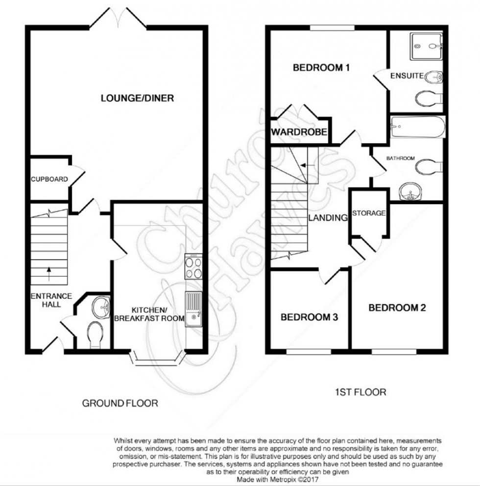 Floorplan for Elm Reach, Southminster