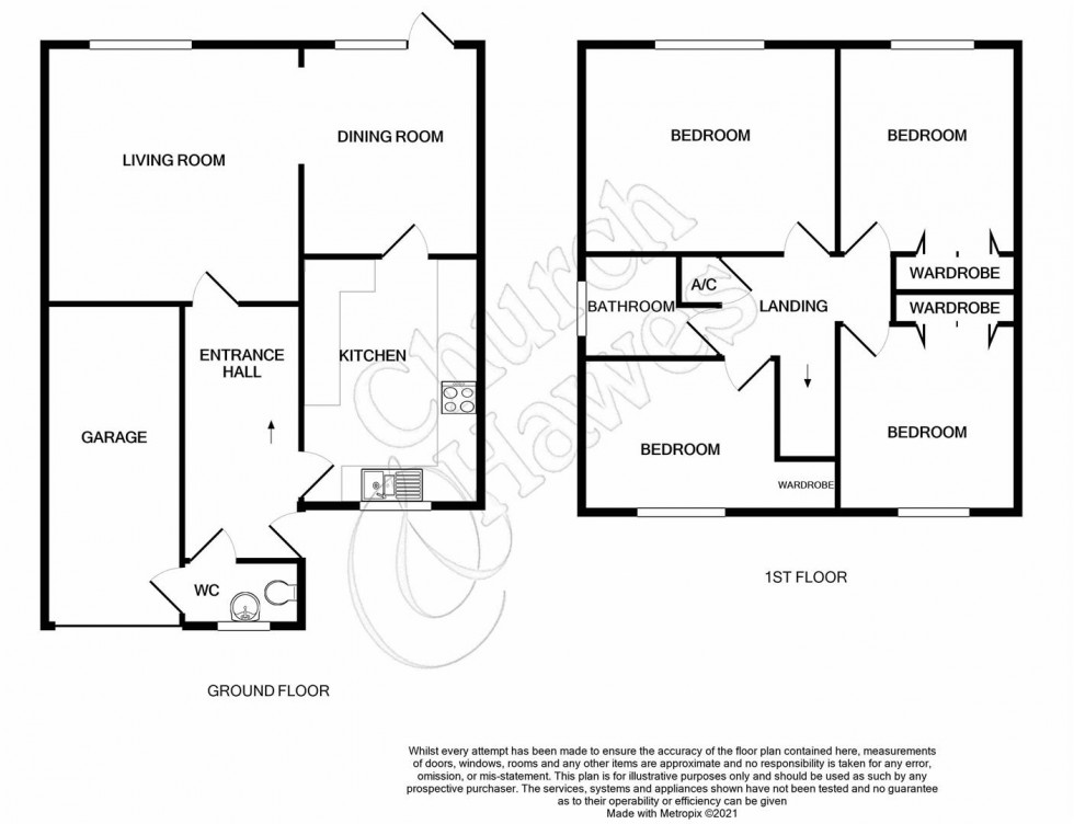 Floorplan for Summerhill, Althorne
