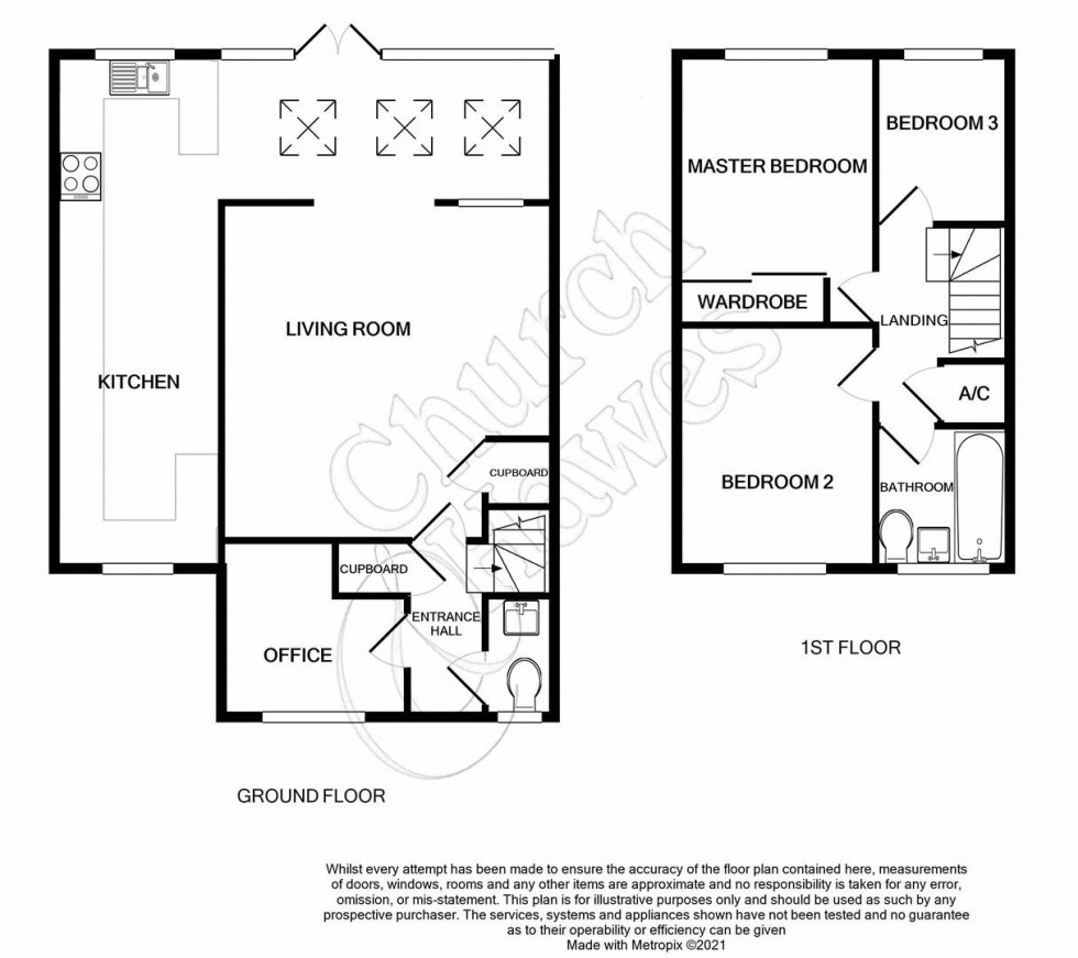 Floorplan for Medley Way, St. Lawrence