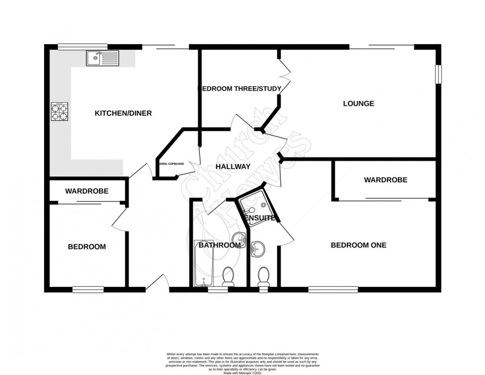 Floorplan for Heron Way, Mayland, Chelmsford